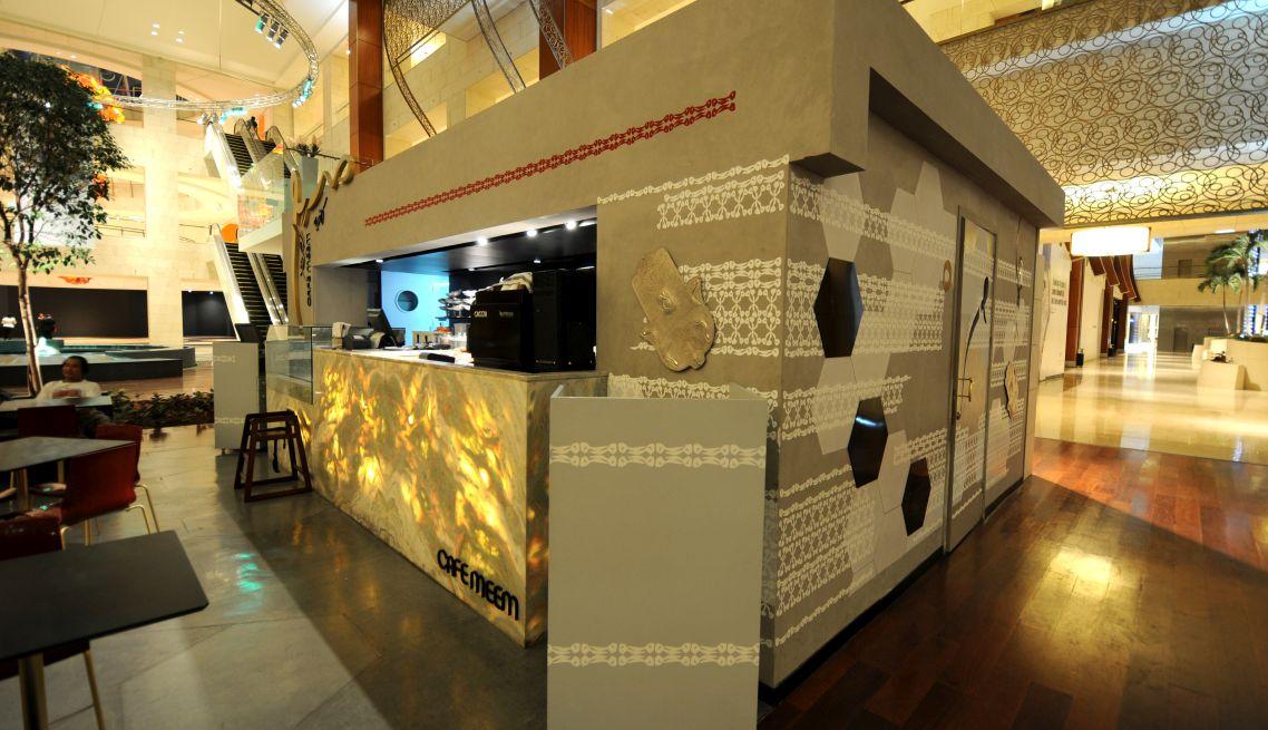 Café Meem 360 Mall Interior 1