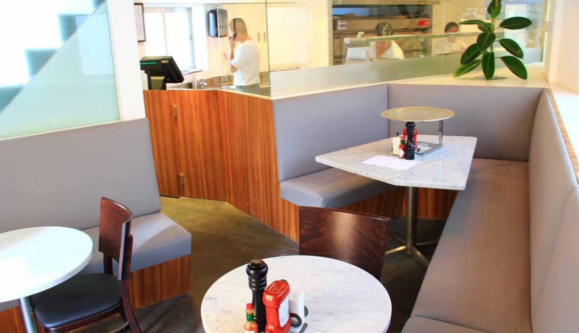 Little Pizzeria Al Shaab Interior 1