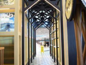 Nagwa Café Interior