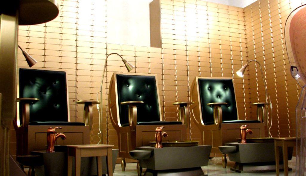 Nail Spa Avenues Mall Interior