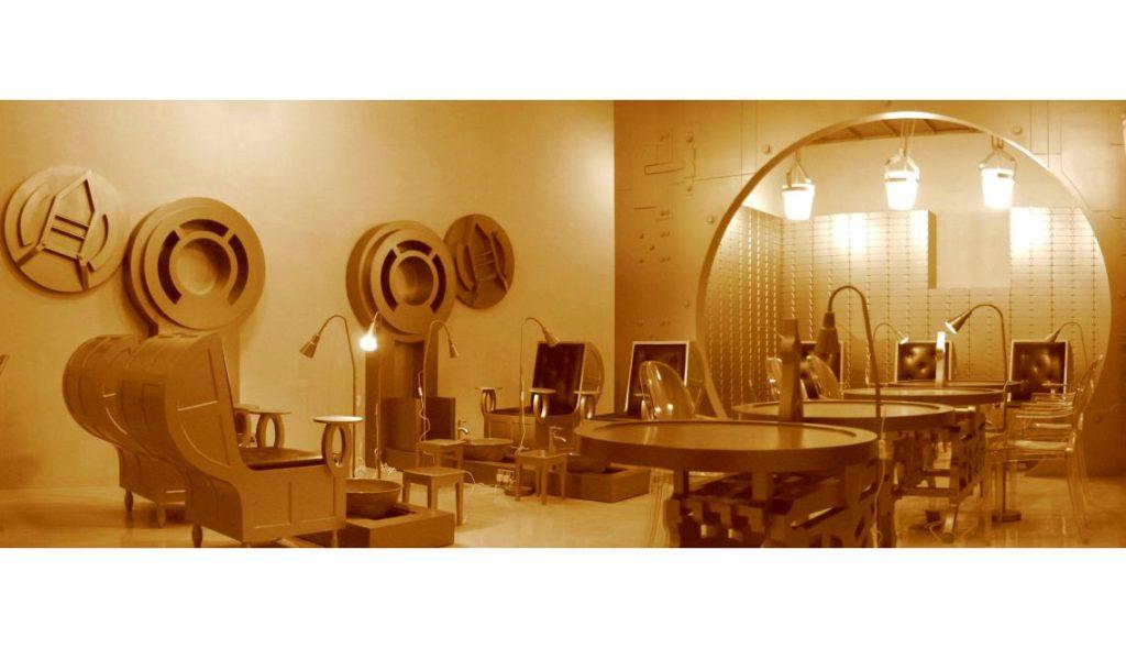 Nail Spa Avenues Mall Interior 5