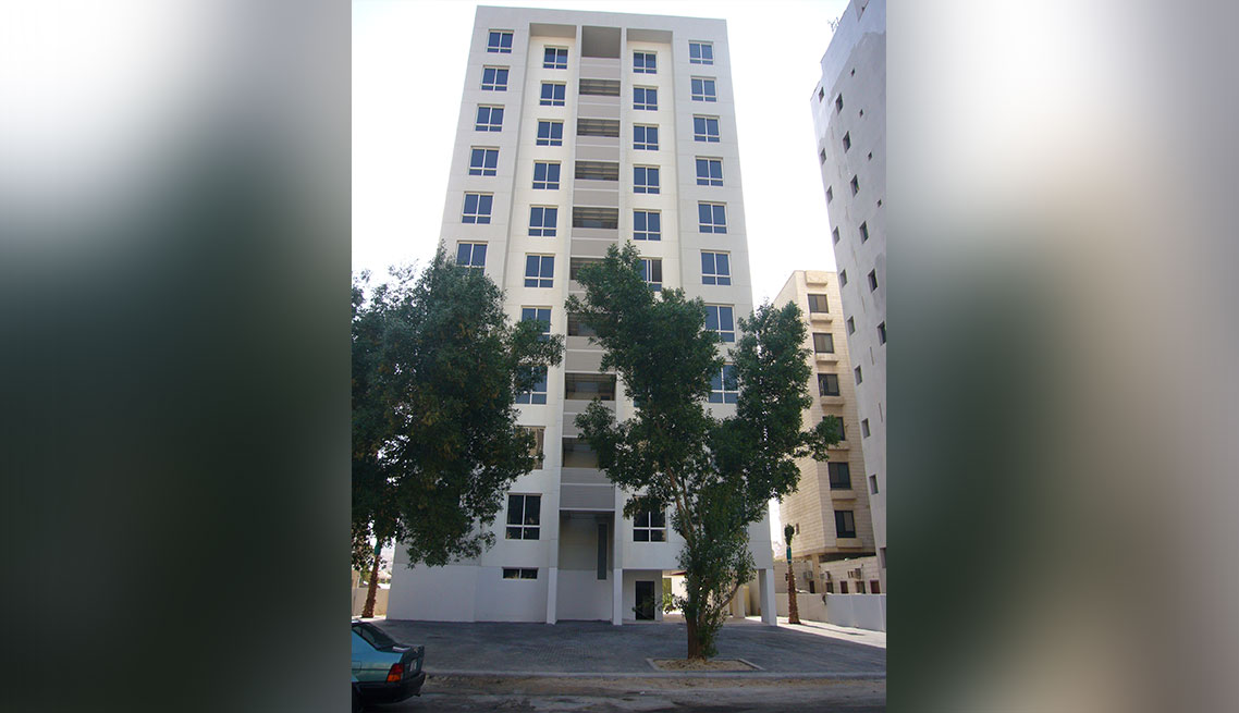 12 Floor Luxurious Residential Building1