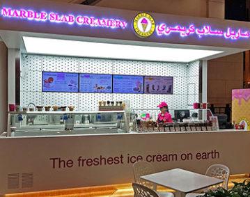 Marble Slab - Al Fanar Mall